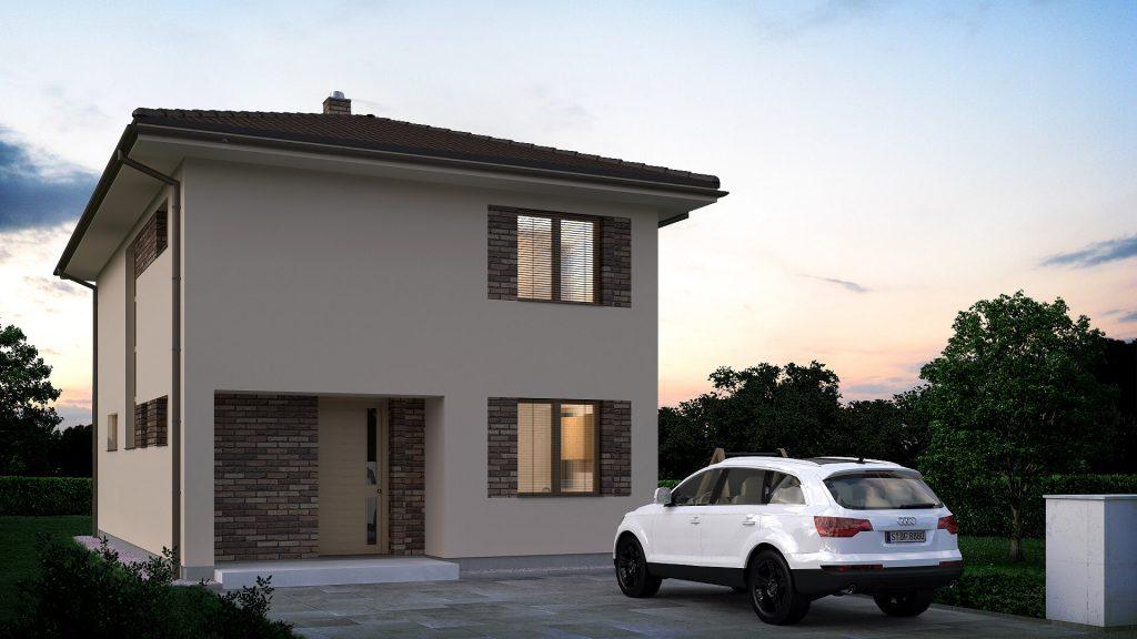 Projekt Domu 4 Izbový Poschodový Zelmíra Domprojekt